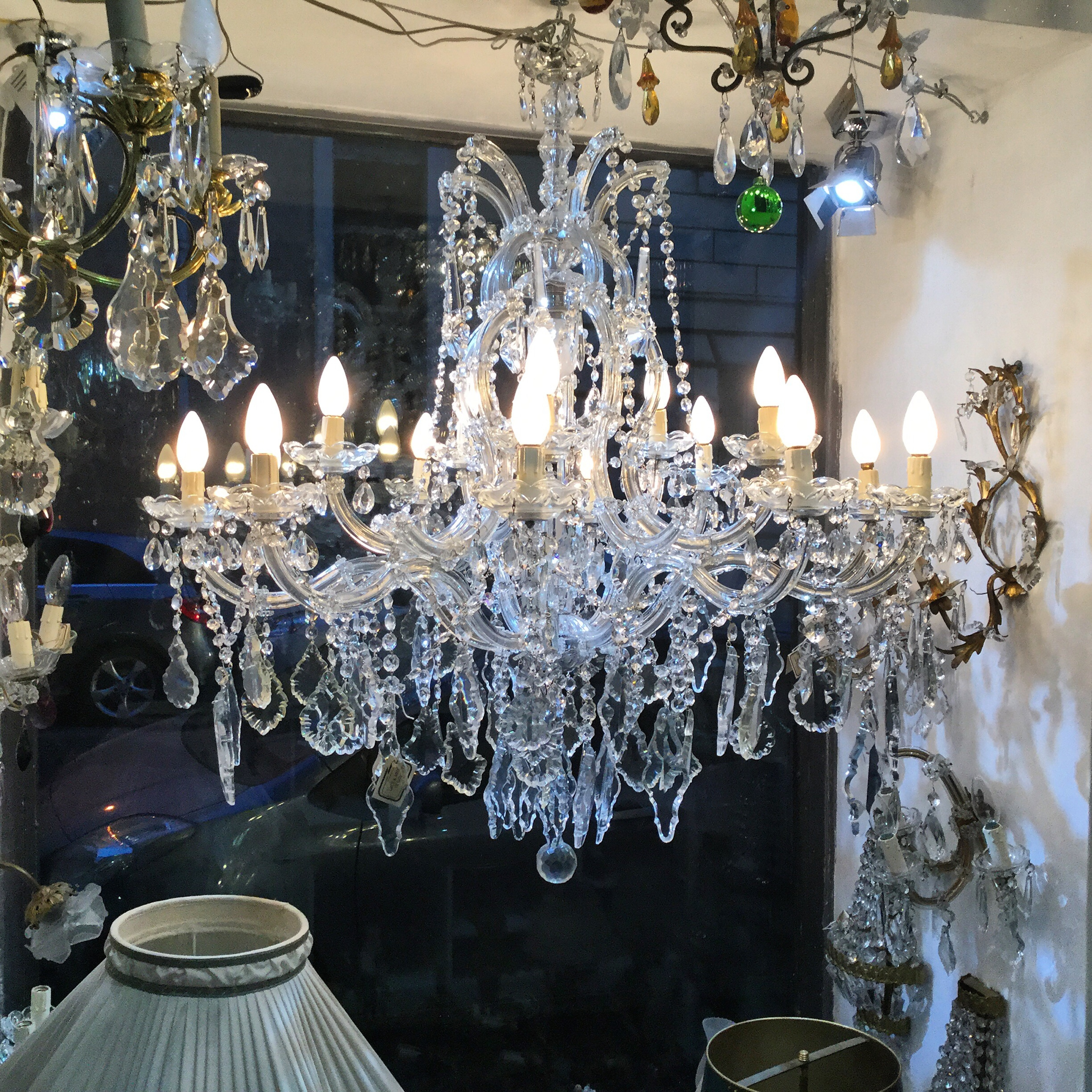 fredrick aluminum hinkley large lights save shop the chandeliers collection area our pin chandelier bowery lighting and on polished karma light for from wow original bar ramond sale in vintage